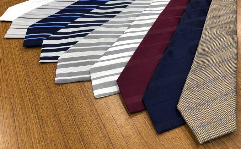 こだわりの素材と縫製。ハンドメイドネクタイとは
